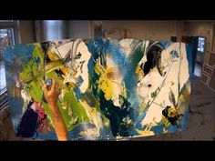 Learn To Paint Abstract Painting Solving Chaos Wet On Wet With Big Surfaces (HD)  By Jan van Oort