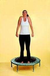 Übungen mit dem Trampolin 3: Schulterheben