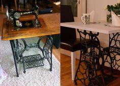 Tuunauksia I Sewing Table, Diy Design, Office Desk, Antiques, Furniture, Interiors, Home Decor, Google, Antiquities