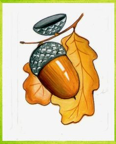 VK is the largest European social network with more than 100 million active users. Stone Crafts, Rock Crafts, Fall Crafts, Halloween Crafts, Crafts For Kids, Fall Coloring Pages, Adult Coloring Pages, Vintage Tea Parties, Autumn Painting