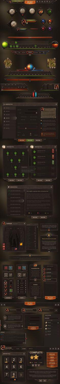 Burnblade UI by Evil-S on DeviantArt