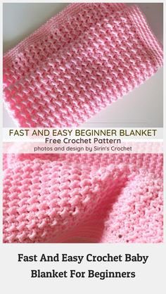 Baby Blanket Crochet 83379 You're reading  Fast And Easy Crochet Baby Blanket For Beginners by #couverturebebetricot Baby Blanket Crochet, Crochet Baby, Free Crochet, Knit Crochet, Afghan Crochet Patterns, Baby Knitting Patterns, Baby Patterns, Crochet Simple, Knitting For Beginners