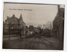 CALLANDER: Publisher's photograph used to produce a postcard (C471). | eBay