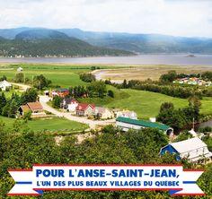 Raison no. 128 de visiter le Saguenay-Lac-Saint-Jean cet été : pour L'Anse-Saint-Jean. #175raisons #QcOriginal Lac Saint Jean, Beaux Villages, Fjord, Golf Courses, Canada, Camping, Travel, Campsite, Viajes