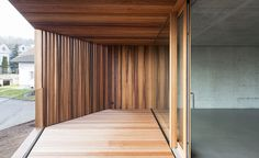 Into the woods: a timber-clad Swiss home brings the outside in | Architecture | Wallpaper* Magazine