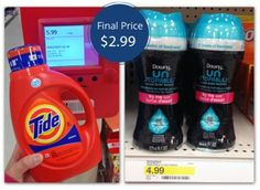 Downy Unstopables and Tide Detergent, Only $2.99 at Target!