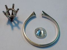 Jewelry Tutorial - Six Claw ColletJóias Tutorial - Seis Garra Collet