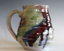 LARGE Coffee Mug, 23 oz,handmade ceramic cup, tea cup, coffee cup, handthrown ceramic stoneware pottery mug, unique coffee mug