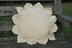 Sunshine on X-mas. Sold out, made to order £45-60 (excl. shipping, incl. feather duck cushion base)