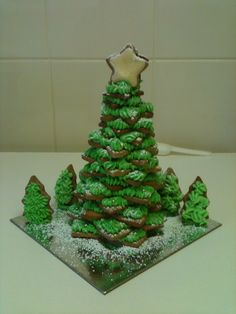Gingerbread Christmas Tree.