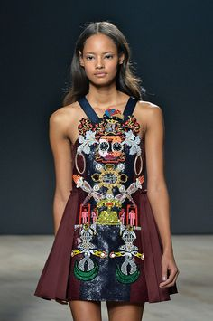 TREND: Embellishment    Mary Katranzou