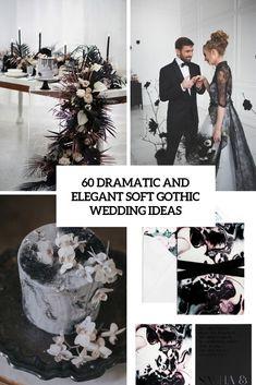 60 dramatic and elegant soft gothic wedding ideas cover - Weddingomania Romantic Wedding Receptions, Romantic Weddings, Elegant Wedding, Fall Wedding, Dream Wedding, October Wedding, Gothic Wedding Ideas, Unique Weddings, Gothic Wedding Decorations
