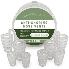When we are asleep, our muscle mass slim as the muscle mass end up being relaxed, as well as may even sometimes shut off briefly. The air passing through this smaller sized opening could cause the cells bordering the opening to shake, which subsequently can cause the sounds of snoring.  The CalilyHealth Anti-Snoring Nose Vent keeps the nostrils open, hence optimizing the air flow in the nasal passageways, efficiently removing the snoring sounds.