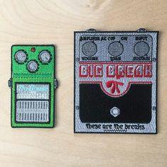 Cool! The new @thesearethebreaksco #BigMuff patch is now available at thesearethebreaksco.bigcartel.com  #bigmuffpi #electroharmonix #guitar #guitarist #effectspedals #guitarpedals #pedals #gearwire #guitars #patch #patchgame #fuzz