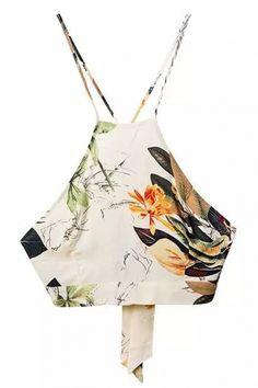 Spaghetti Strap Crop Top Maxi Skirt Sets - OASAP.com