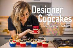 Designer Cupcakes | Baking With RoxyRara
