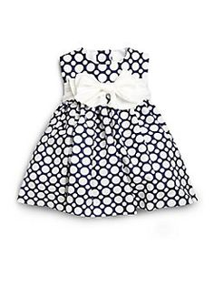 Helena and Harry Infant's Dot-Print Cotton Dress Nautical Looks, Komplette Outfits, Little Fashionista, Toddler Girl Outfits, Kind Mode, Cotton Dresses, Baby Dress, Casual Chic, Printed Cotton