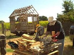 How To work with pallet wood tiny free house