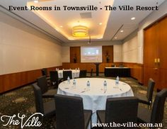 Looking for event rooms in Townsville? The Ville is the perfect place for all your events, conferences, presentations or meetings.Visit us today. Event Room, Function Room, Perfect Place, Rooms, Events, Bedrooms