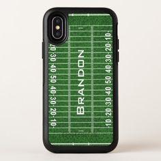 Football Field Design OtterBox Symmetry iPhone X Case