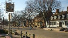 Williamsburg and Jamestown. I love history.