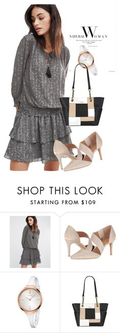 """""""dress"""" by masayuki4499 ❤ liked on Polyvore featuring Maison Scotch and Calvin Klein"""