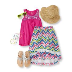 Find a wide selection of cute girls clothing at The Children's Place. Shop the PLACE online where big fashion meets little prices! Diva Fashion, Mix Match, Her Style, What To Wear, Kids Outfits, Summer Dresses, Divas, Shopping, Clothes