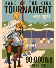 The Hand's Tourney by Steve Thomas