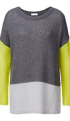 Luxe Winter Warmers: Seed Colour Block Knit