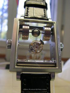 867dd14db6b PuristSPro - The Thomas Prescher Mysterious Automatic Double Axis Tourbillon  First pictures in the wild.