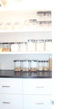 Pantry Organization: Before and After