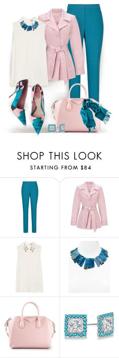 """""""14k"""" by jiabao-krohn ❤ liked on Polyvore featuring Reiss, John Lewis, Miu Miu, Kenneth Jay Lane, Givenchy and Allurez"""