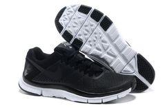 Nike Free Run 2013 Nuevo Nike Free Trainer 3.0 Zapatillas de entrenamiento para Hombre Negras/Negras-Metallic Platas http://www.esnikerun.com/