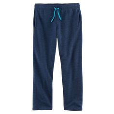 Boys 8-20 Tek Gear® Ultra-Soft Fleece Pants, Size: Xl(18/20), Blue (Navy)