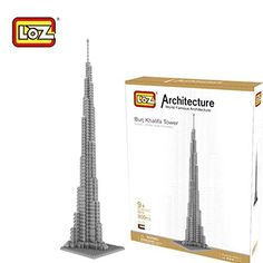 LOZ Diamond Blocks World Famous Architecture Series - Burj Khalifa Tower