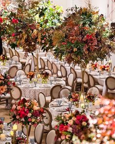 Inside Weddings (@insideweddings) posted on Instagram • Oct 13, 2020 at 7:09pm UTC Centerpieces, Table Decorations, Wedding Book, Floral Design, Table Settings, Autumn, Rustic, Photography, Instagram