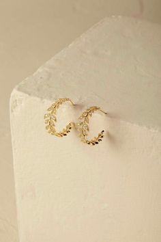 Jewelry Design Earrings, Gold Earrings Designs, Ear Jewelry, Cute Jewelry, Bridal Jewelry, Gold Jewelry, Jewlery, Fancy Jewellery, Gold Jewellery Design