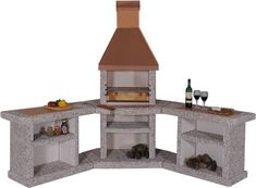 Tuscany Terrace Stove Outdoor Kitchen Copper/Multi Function: Amazon.co.uk: Garden & Outdoors