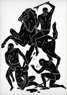 horse and men, cleon peterson