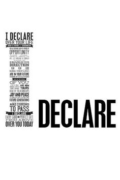 I Declare, and do it is.