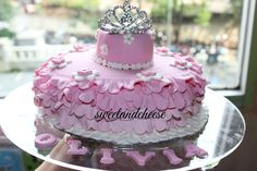 Girly theme cakes