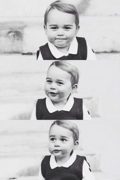 The cuteness of Prince George
