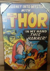 Thor #20 Marvel Comics Silver Buffalo Wood Wall Decor Art Marvel Room, Marvel Comics, Wood Wall Decor, Thor, Buffalo, Silver, Ebay, Wooden Wall Decor, Money