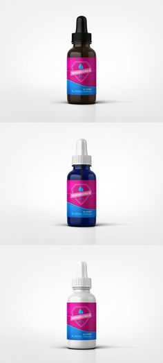 FREE Dropper Bottle Mock-Up by ksioks.deviantart.com on @DeviantArt