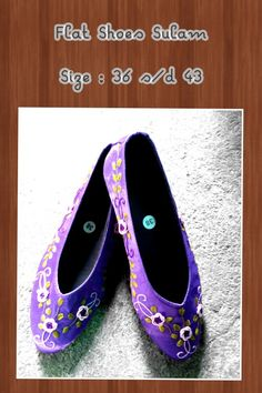 Flat Shoes Sulam