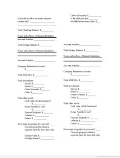 Sworn Statement Format  Sworn Statement Template  Legal