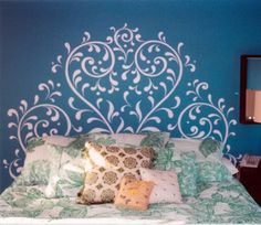 46 Best Stencil It Images Painted Furniture Handmade Crafts Room