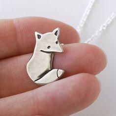 Handmade Gifts | Independent Design | Vintage Goods Fox Necklace - Jewelry - Girls