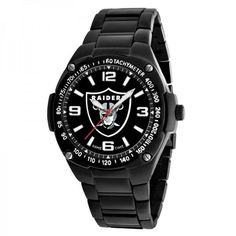 Oakland Raiders Men Watch – Gladiator by Game Time