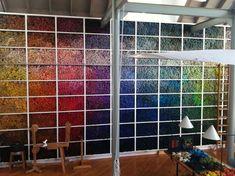 Helena Hernmarck | studio: tapestry wool stash | Ridgefield, Connecticut, U.S.A.